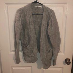Lauren conrad grey cardigan
